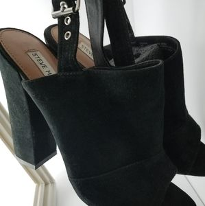 Steve Madden Sexy suede sling back mules: Pasqual